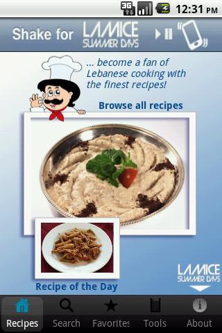 100 Lebanese Recipes- screenshot