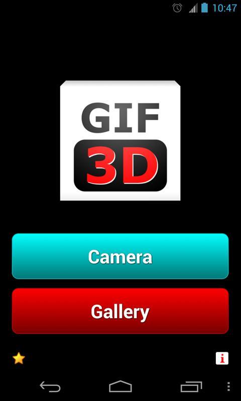 GIF 3D Free - Animated GIF - screenshot