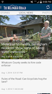 Bellingham Herald WA newspaper- screenshot thumbnail