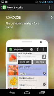 CandyGifter screenshot