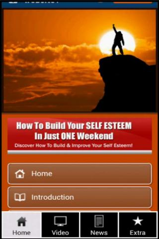 The Self Esteem Building Guide