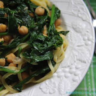 Broccoli Rabe Pasta Toss #Weekday Supper