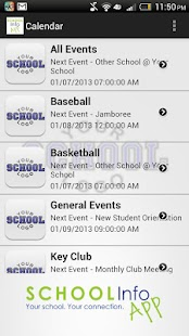 School Info - screenshot thumbnail