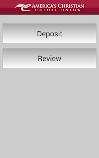 ACCU Remote Deposit - Mobile - screenshot thumbnail