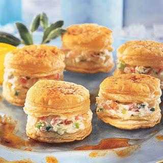 Crab Appetizer Napoleons