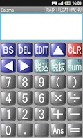 Screenshot of Calsma Scientific Calculator