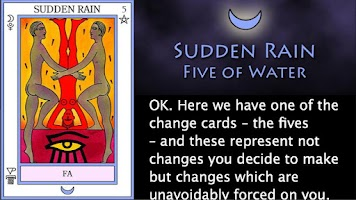 Screenshot of The Elemental Tarot
