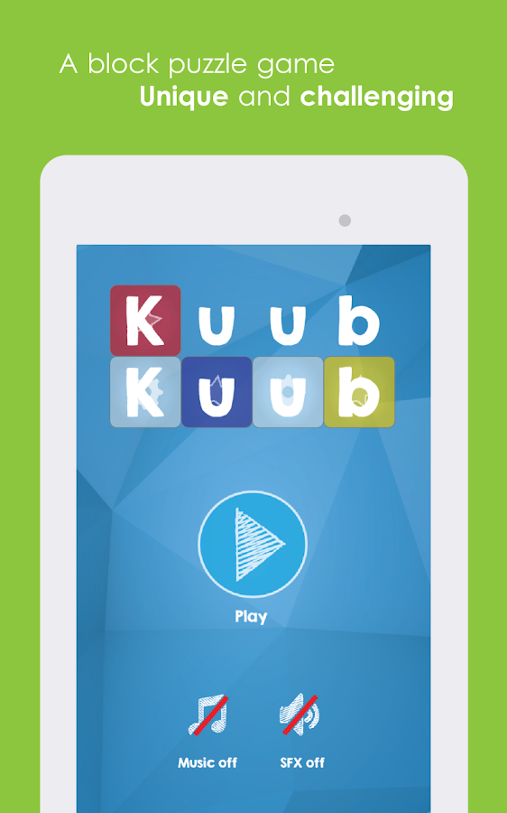 Kuub Advanced- screenshot