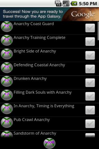 Achievements 4 Anarchy Reigns