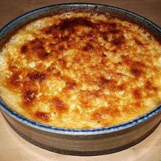 Good Old Fashioned Baked Rice Pudding.