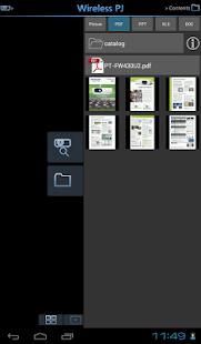 Panasonic Wireless Projector - screenshot thumbnail