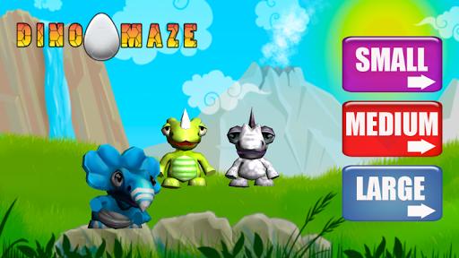 Dino Egg Maze Game Lite