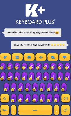 Keyboard Plus Emoji - screenshot