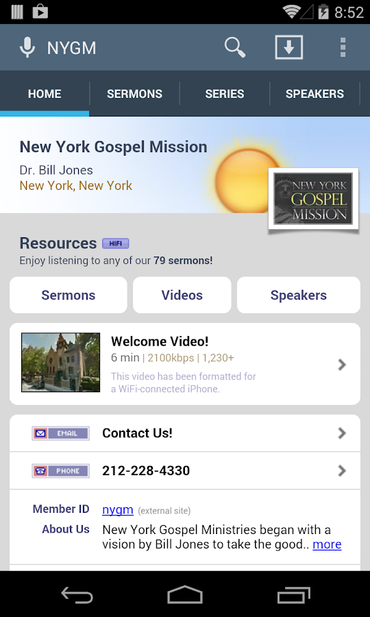 New York Gospel Mission- screenshot