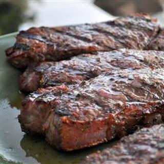 Barbequed Steak.
