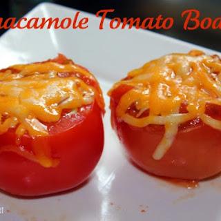 Guacamole Tomato Boats Recipe