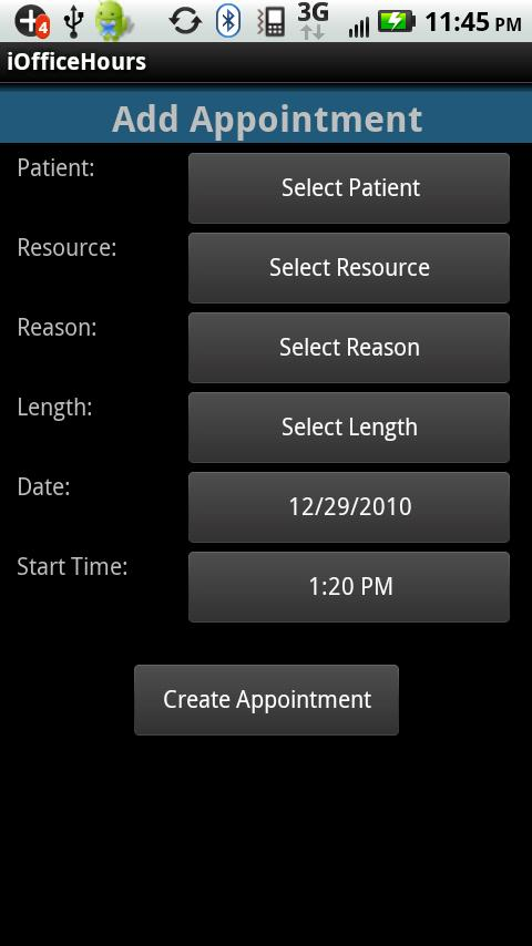iOfficeHours for Medisoft - screenshot