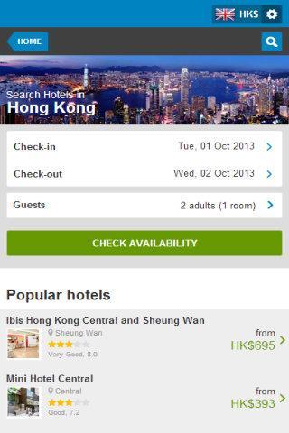 Hong Kong Hotel 80 Discount