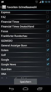 OnlineZeitungen Deutschland- screenshot thumbnail