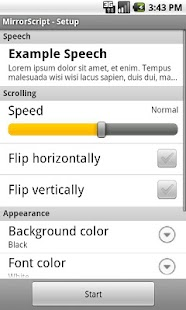 Free Teleprompter- screenshot thumbnail
