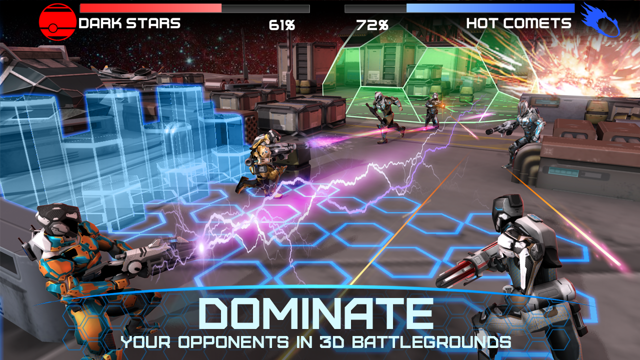Rivals at War: 2084- screenshot