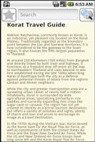 Screenshot of Korat Travel Guide