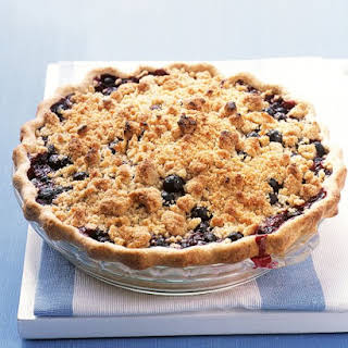Fruit Pie with Crumb Topping.