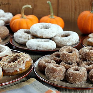 Whole Grain Maple Pumpkin Doughnuts & Muffins