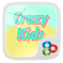 Crazy Kids GO Launcher Theme icon