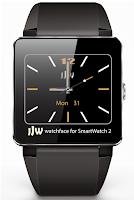 Screenshot of JJW Elegant Watchface 1 SW2