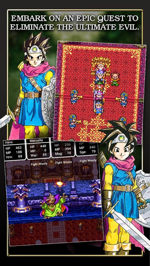 DRAGON QUEST III- screenshot