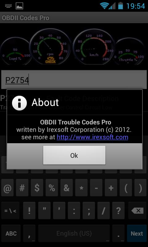 OBDII Trouble Codes Pro - screenshot