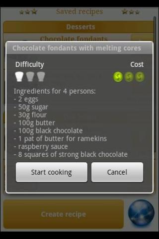 Cook Assistant - screenshot