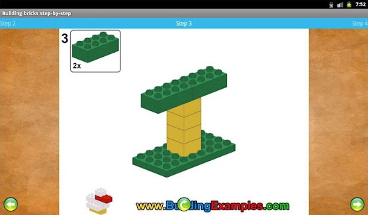 Building bricks step-by-step- screenshot thumbnail