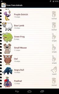 绘制农场动物
