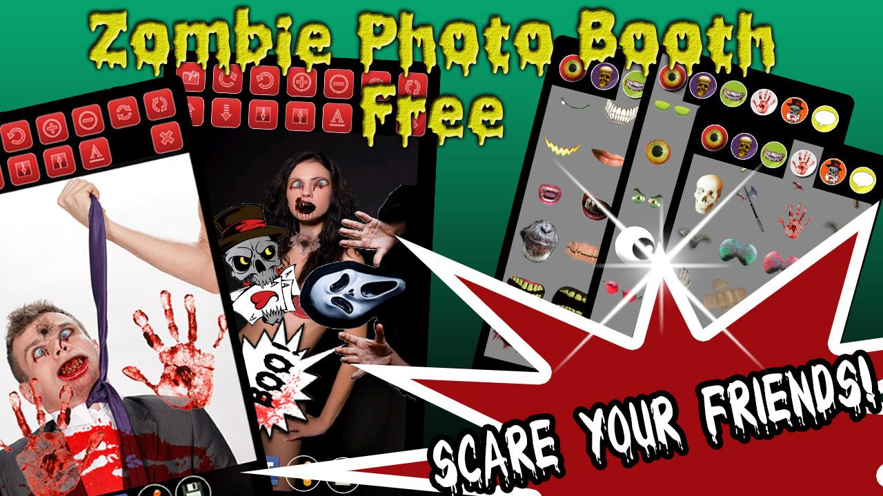 Zombie Photo Booth Free - screenshot