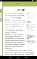 Screenshot of NIV Women's Devotional Bible
