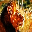 3D Lion 10 logo