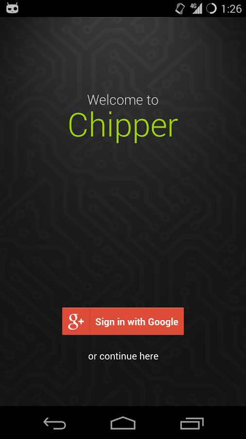 Chipper - A Keygen Jukebox - screenshot