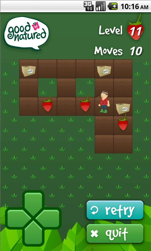 The Farmer Frenzy Game- screenshot