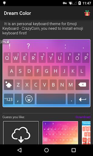 Emoji Keyboard - Dream Color