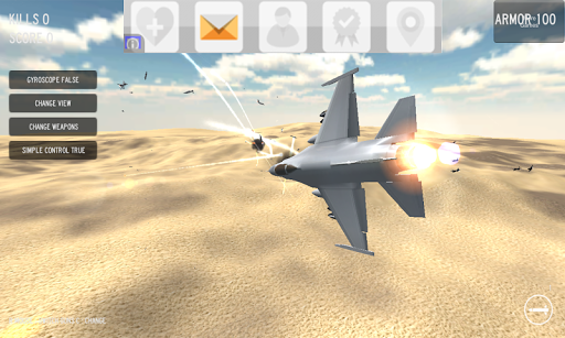 【免費模擬App】Air Strike Flight Simulator-APP點子