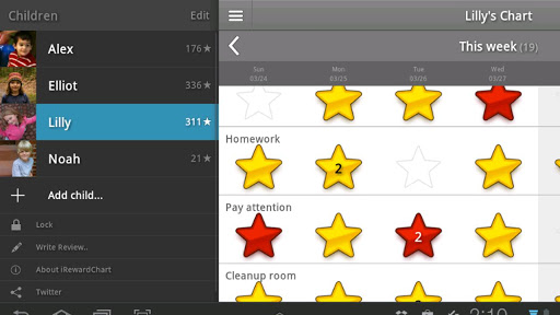 iRewardChart app (apk) free download for Android/PC/Windows screenshot