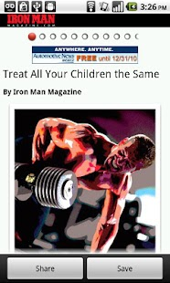 Iron Man Magazine - screenshot thumbnail