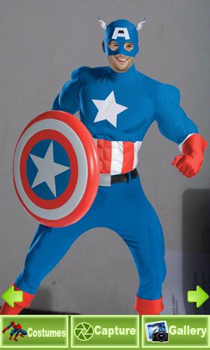 슈퍼 영웅 얼굴 체인저