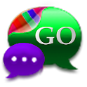 GO SMS Kiwi Kush Cobalt Theme icon