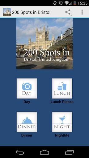 200 Spots in Bristol