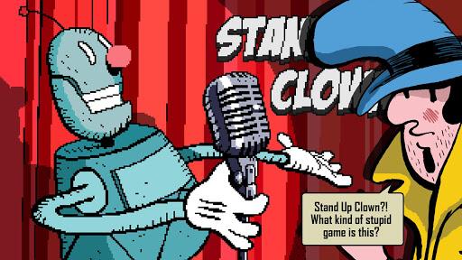 Stand Up Clown