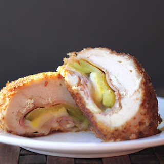 Cuban Chicken Cordon Bleu