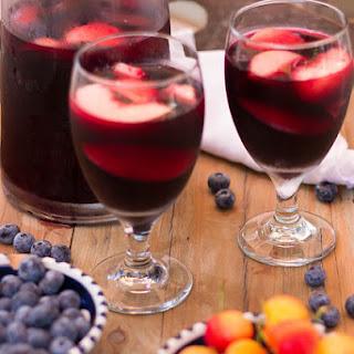 Blueberry Sangria.
